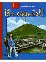 ¡en Español!: Student Edition Level 1 2004