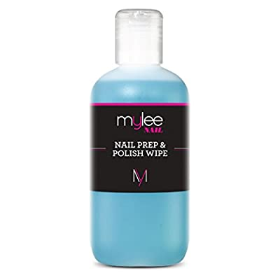 Mylee Prep + Wipe Nail Gel Polish Cleanser Cleaner sanitize UV LED Manicure 250ml