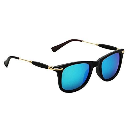 Tiludi Wayfarer Unisex Sunglasses (Gog002 50 Blue)