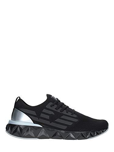 Emporio Armani EA7 Zapatillas para Correr Hombre Nero 43 1/3 EU