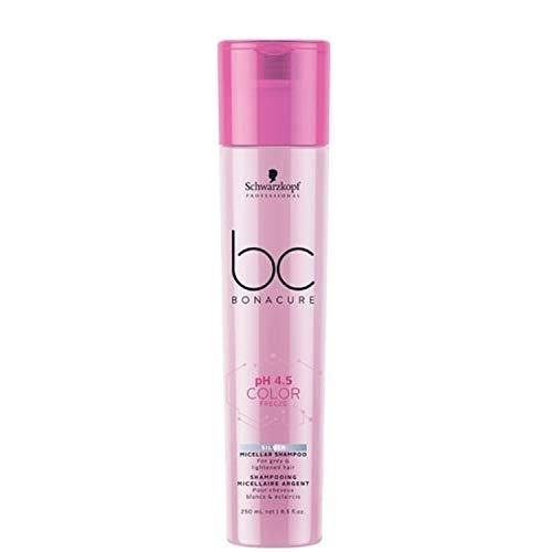 Schwarzkopf BC Bonacure pH 4.5 Color Freeze Silver Shampoo, 1er Pack (1 x 250 ml)