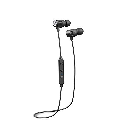 MuveAcoustics Edge MA-1020SB Wireless Bluetooth Earphone (Steel Black)
