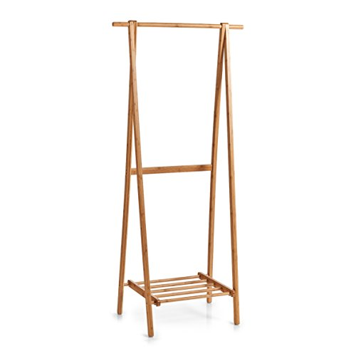 Zeller 13598 Garderobe, Holz, natur, 73.5 x 44.5 x 159 cm