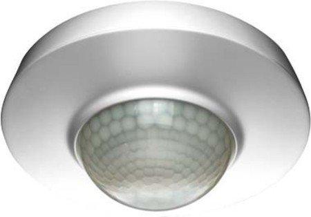 ESYLUX 2473938 Deckenbewegungsmelder 360 RW 24 M UP MD 360I/24, weiß - Kompakt-leuchtstofflampen-dimmer-schalter