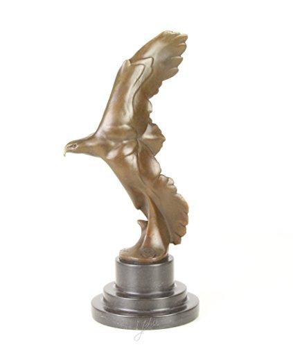 Art Deco bronzo Scultura aquila in volo - Aquila Scultura In Bronzo