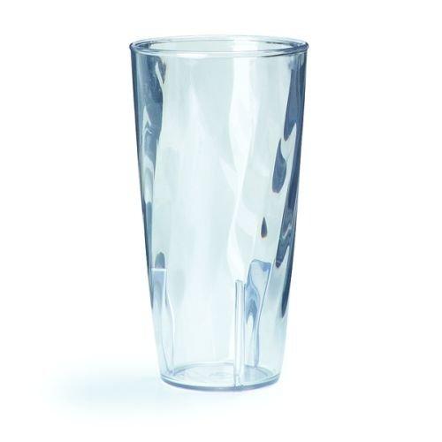 623,7gram Swirl Clear Polycarbonate tumbler--1each