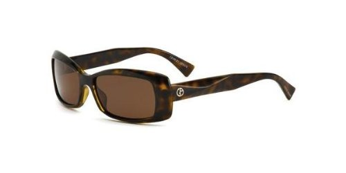 Giorgio Armani GA 622 S HAVANA/CR-DK BROWN Sunglasses (GA-622-S-AX5-8U-55)