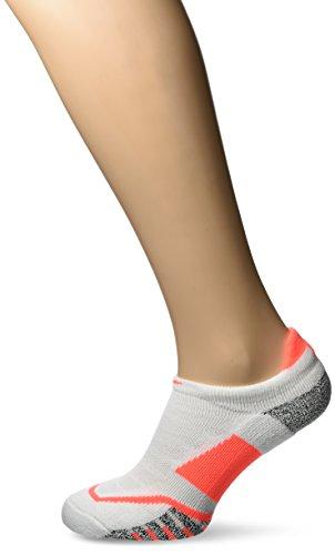 Nike U NG Cushioned NS-TN Socken für Herren, Weiß (White / Hyper orange), S -