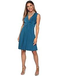 9c01077fbdfb Amazon.fr   robe bleu turquoise   Vêtements