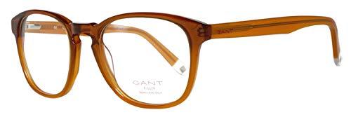 GANT Herren Brillengestelle Brille GRA077 50N04, Braun, 50
