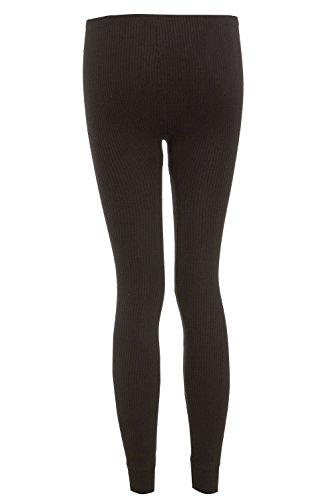 Leggings bianchi in tessuto termico Black Leggings