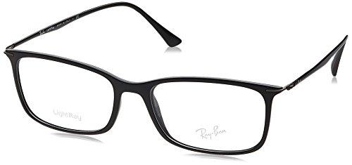 Ray-Ban Herren Brillengestell 0rx 7031 2000 53 Schwarz (Negro),