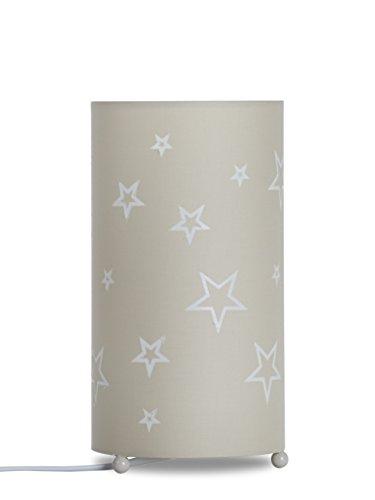 Aratextil Sofia Lampe de Table, Coton, Beige, 24.5 x 13 cm