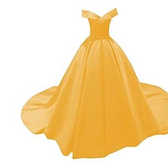 Abendmode Vintage A Linie Prinzessin Lange Brautkleider Kleider Odw Frauen Ballkleider Formales Party Satin 54jLRA