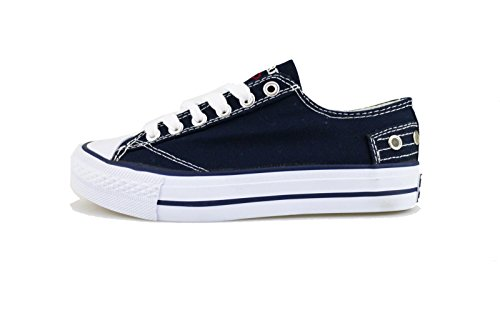 CARRERA JEANS sneakers donna 35 EU blu tela AG559-B
