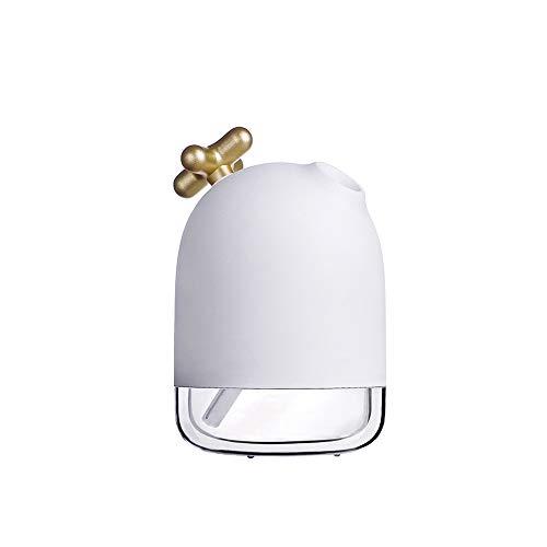 GLQ Luftbefeuchter - Mini-Zerstäuber - Dreistufige Steuerung Timing USB-Luftbefeuchter Verstellbarer Verdampfer für kleines Zimmer -