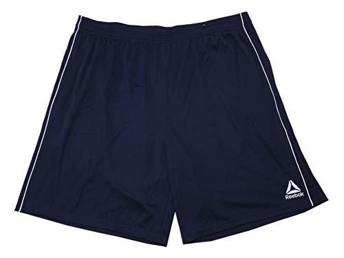 Reebok Mens Size 3X-Large Speedwick Active Basketball Shorts, Dark Blue/White (Pro-5-basketball-shorts)