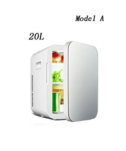 LIQICAI Elektrische Kühlbox Kühlung Auto Mini Kühlschrank Elektrische Kühlbox Kühler Warm / Cool Temperatur Einstellbar -12V DC 220V AC ( Farbe : Grau , größe : Model-A )