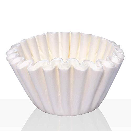 Coffeefair Korbfilter für Bonamat, Bartscher und Animo 1000Stk. weiß, Kaffeefilter 85/245 mm