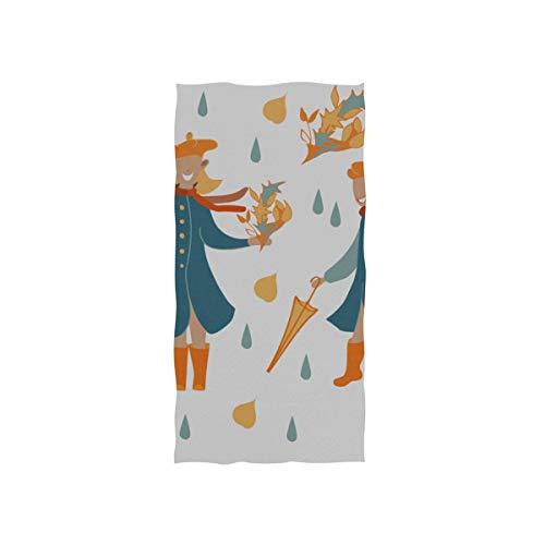 Bunten Regenschirm Und Süßes Mädchen Weiche Spa Strand Badetuch Fingerspitze Handtuch Waschlappen Für Baby Erwachsene Bad Strand Dusche Wrap Hotel Travel Gym Sport 30x15 Zoll (Erwachsene Blau Yacht Hut)