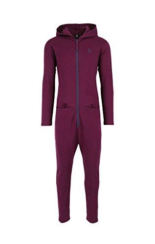 OnePiece Damen Jumpsuit UNO, Violett (Burgundy), 36 (Herstellergröße: S) - 6