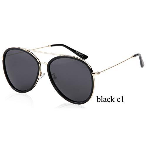 ZRTYJ Sonnenbrillen Lila Polarisierte Frauen-Sonnenbrille-Luftfahrt-Blitz Verspiegelte Schutz-Brillen-Mann-Piloten-Sonnenbrille
