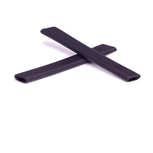 Walleva Earsocks für Oakley Jawbone/Split Jacket/Straight Jacket Schwarz