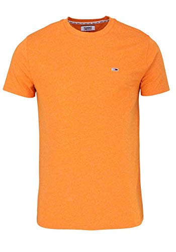 Tommy Hilfiger Herren TJM Blended Tee T-Shirt, (Russet Orange 806), X-Large (Herstellergröße:XL)