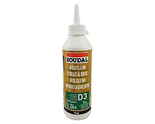 Soudal Holzleim 65A Flasche 125g Dispersionskleber wasserfest lösemittelfrei