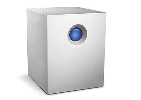 LaCie 4big Quadra externe Festplatte 12TB (8,9 cm (3,5 Zoll), USB 3.0) hell-grau