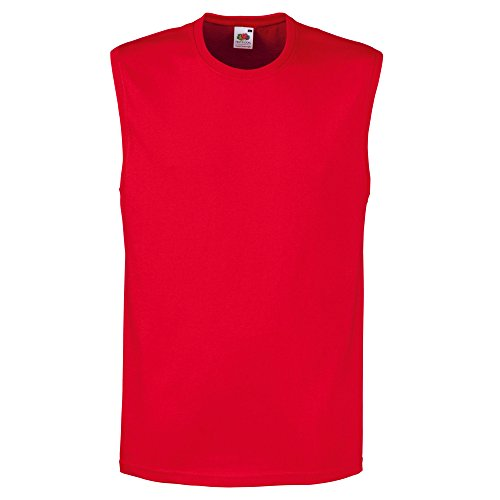Fruit of the Loom -  Canotta  - Uomo Red