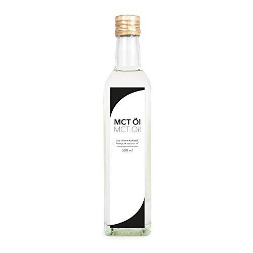 Detoxfy MCT Öl, Premium Qualität, auf Kokosölbasis, 1er Pack (1x 500ml) -