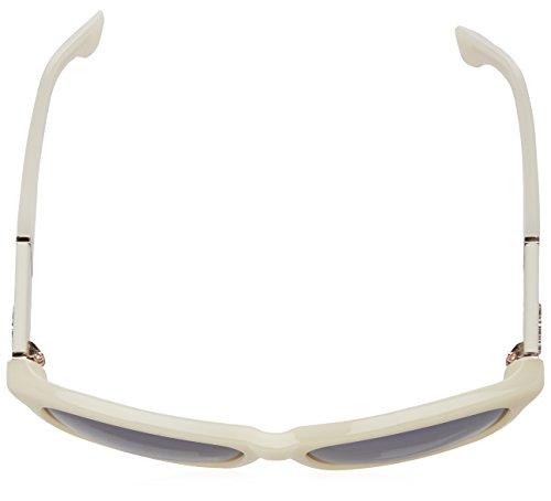 Diesel Damen Butterfly Eye Sonnenbrille, Weiß (Bianco), 57