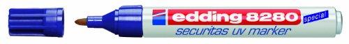 Edding 8280UV - Caja 10 marcadores seguridad ultravioleta