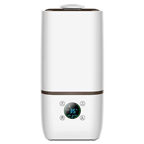 GYZ Humidificateur ultrasonique à brume fraîche 4L Humidité constante pure, intelligente et silencieuse Machine Machine d'aromathérapie Sh Arrêt automatique sans eau button Bouton tactile 12 heures //