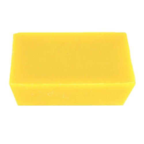 FITYLE 500g Bienenwachs Blocks, Perfekt für Kerzen, Seifenherstellung, Lippenbalsam, Hautpflegeprodukte, Körperlotionen, Kosmetika, Kunsthandwerk und andere