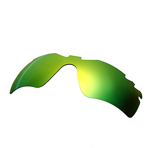 HKUCO Mens Replacement Lenses For Oakley Radar Path-Vented Sunglasses Emerald Green Polarized