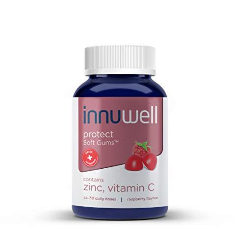 Kaubare Vitamine Zink (Innuwell Protect, Zink Und Vitamine C Vegan Soft GumsTM, 30 Tagesdosierungen)