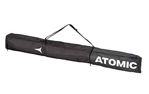 Atomic Nordic Skisack für 3 Paar (Farbe: Black/White, 180 cm)