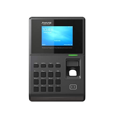 Anviz TC580 rilevazione presenze e controllo di accesso : biometrico, card rfid e PIN, Linux, display HD 3,2', tcp/ip PoE e Wi-fi.