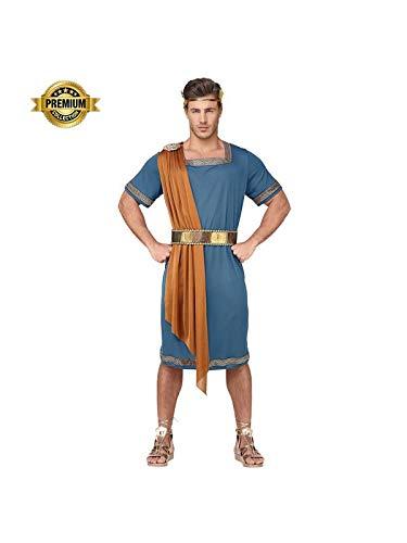 Widmann Srl Costume Imperatore Romano da Uomo Adulti, Multicolore, WDM07933