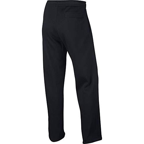 Nike Herren Club Trainingshose, Schwarz (Schwarz / Weiß), XL