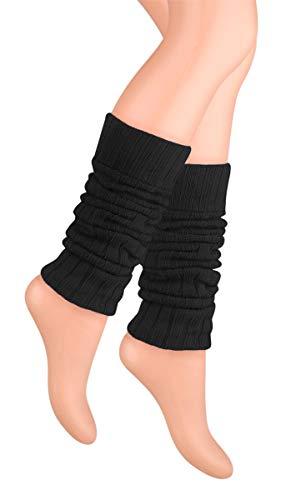 Ateena - Calentadores piernas mujer, diferentes colores, ideal para regalo, talla unica,...