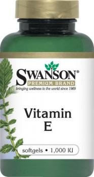 Swanson Vitamin E (1,000iu, 60 Softgels) from Swanson Health Products