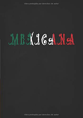 Mexicana: Un Cuaderno Lindos Para Mujeres