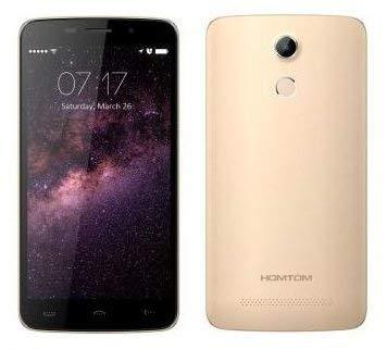 HOMTOM HT17 PRO - Android 6.0 4G Smartphone 2GB de RAM + 16 GB, 5.5 pulgadas de alta definición de 13 MP reconocimiento...