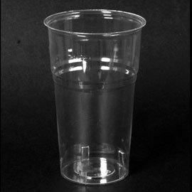 40 Verres de plastique transparent 300 CC Kristal
