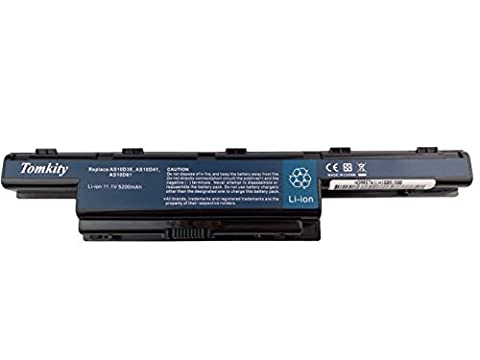 Tomkity 5200 mAh AS10D51 Batterie pour Packard Bell EasyNote LE / LM / LS / NM / NS / TK / TM / TS /