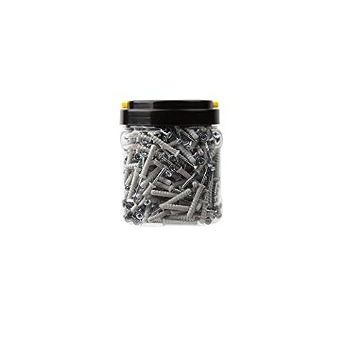 Diager - Baril de 300 chevilles nylon à frapper D.