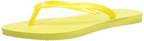 Havaianas Damen Slim Zehentrenner Gelb